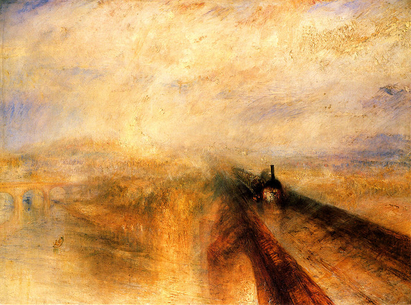 Rain Steam and Speed the Great Western Railway Joseph Mallord William Turner